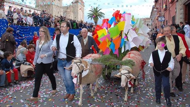Fiesta de Las Mondas en Talavera de la Reina.
