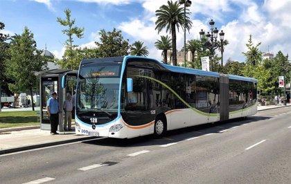 El autobús de Santander será gratis desde el domingo y hasta que acabe el estado de alarma