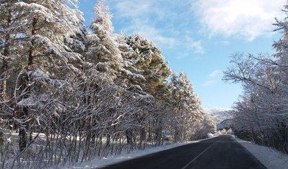 El riesgo por nevadas que dejarán de 4 a 10 centímetros de nieve afectará a cinco provincias del sureste