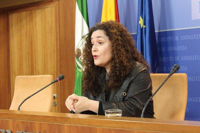 La portavoz parlamentaria de Adelante Andalucía, Inmaculada Nieto, en una imagen de archivo.