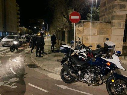 Seis personas detenidas en Palma por desobediencia por incumplir las restricciones del estado de alarma