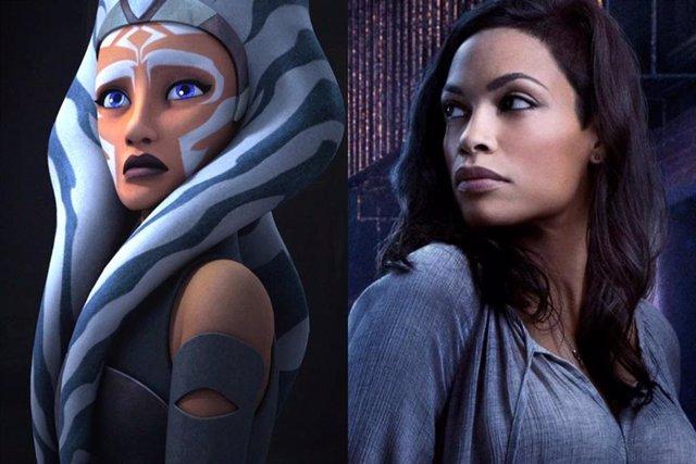 Star Wars: Rosario Dawson será Ahsoka Tano en la temporada 2 de The Mandalorian