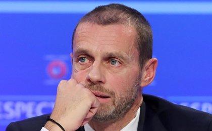 """Ceferin, sobre reanudar el fútbol: """"Tenemos un plan A, B y C, hay que esperar"""""""