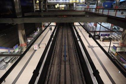 Hasta 5 millones menos de viajeros en el transporte público durante la segunda semana del estado de alarma