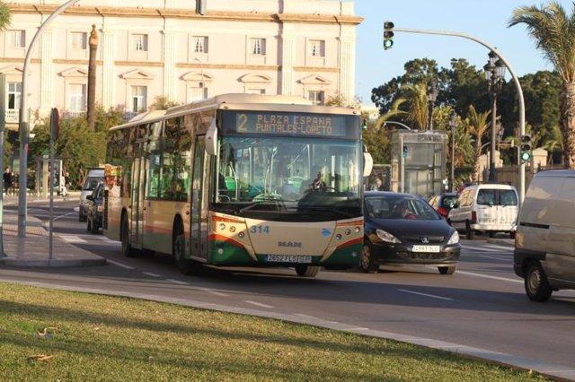 Autobús urbano de Cádiz