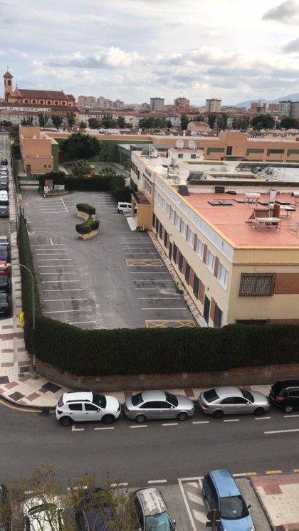 El Colegio San José de Málaga facilita 700 plazas de aparcamiento para personal sanitario del Hospital Regional