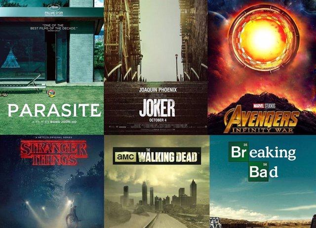 Los carteles de series y películas en versión cuarentena por coronavirus