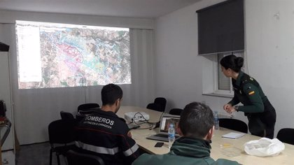 Sucesos.- Efectivos del Ejército del Aire se unen a la búsqueda de la desaparecida en Caspe