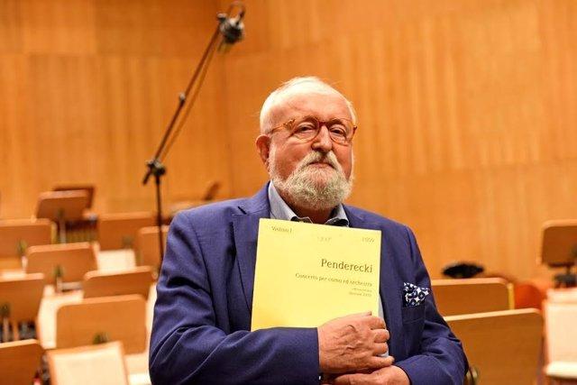 Maestro polaco Krzyzstof Penderecki