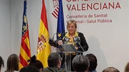 La consellera de Sanidad de la Generalitat Valenciana, Ana Barceló