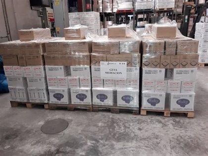 Gesa Mediación entrega 6.700 productos de higiene a los ayuntamientos de Murcia, Archena y Fuente Álamo