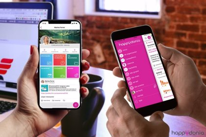 """Happydonia, una app clave en tiempos de coronavirus para facilitar la comunicación de """"todos"""" en las empresas"""
