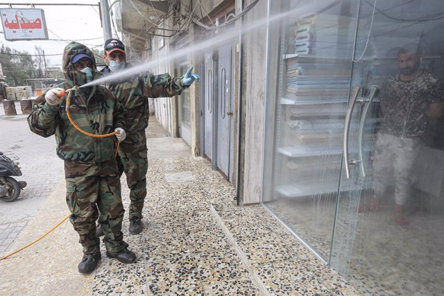 Coronavirus.- Alemania retira a parte del contingente de Irak por la epidemia de
