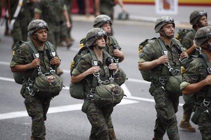 Efectivos de Brigada paracaidista y la Base de Almagro hacen labores de control en Albacete y Ciudad Real