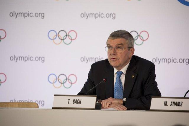 """JJ.OO.- Bach: """"Todos los deportistas que se clasificaron para Tokyo 2020 seguirá"""