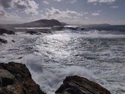 Aviso naranja por temporal en el litoral de A Coruña desde la tarde de este domingo