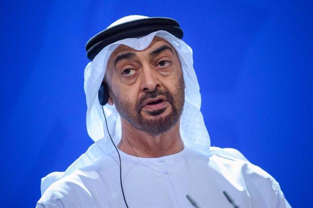 El príncipe heredero de Abú Dhabi y 'número dos' de las Fuerzas Armadas de Emiratos Árabes Unidos (EAU), Mohamed bin Zayed al Nahyan