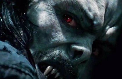Aterradora imagen de Jared Leto como Morbius el vampiro en el spin-off de Spider-Man