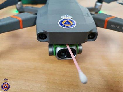 El Ayuntamiento de Mazarrón pionero a nivel nacional al utilizar drones para medir la temperatura corporal