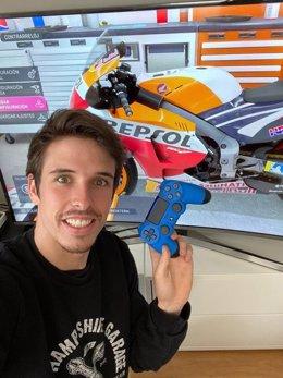 El piloto de MotoGP Àlex Márquez (Repsol Honda) en el primer Gran Premio de eSports