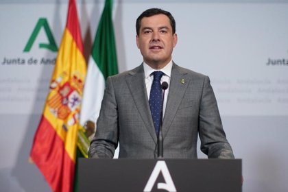 """Moreno urge al Gobierno a enviar test rápidos de coronavirus a Andalucía: """"Necesitamos 125.000 por semana y recibimos 0"""""""