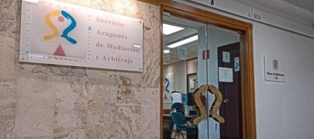 Sede del Servicio Aragonés de Mediación y Arbitraje (SAMA)