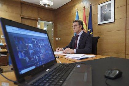 """La Xunta valora la """"voluntad de entendimiento"""" del Gobierno y traslada su """"apoyo sin fisuras"""" ante la UE"""