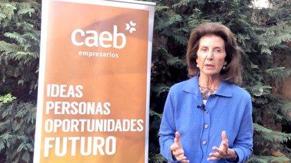 """CAEB advierte que """"el parón condena a la destrucción masiva del tejido productivo y de miles de empleos"""""""