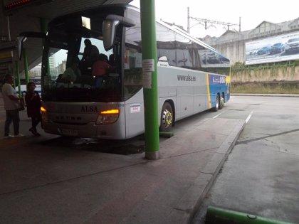 Restringido el uso del transporte público en autobús