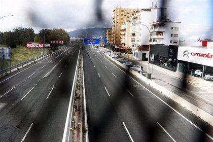 Un muerto en las carreteras en el segundo fin de semana de estado de alarma por el coronavirus