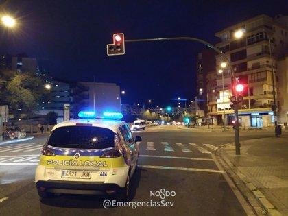 Detenido tras una persecución a 160 kilómetros por hora por el casco urbano de Sevilla