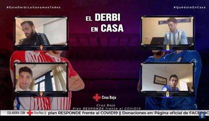 El Oviedo vence al Sporting en un derbi solidario a favor de Cruz Roja