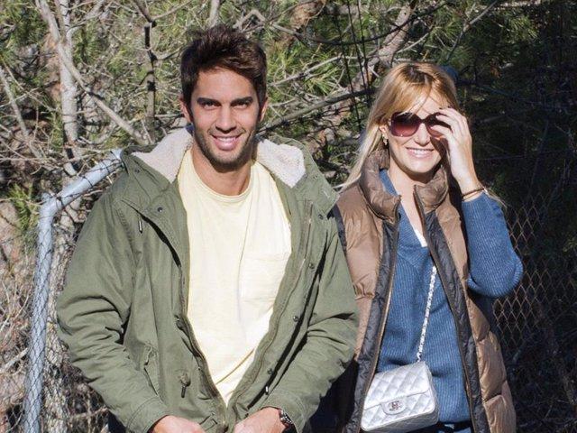 Alba Carrillo y Santi Burgoa en una imagen de archivo
