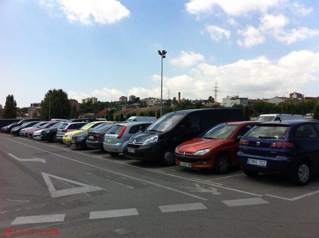 Imatge d'arxiu d'un aparcament municipal