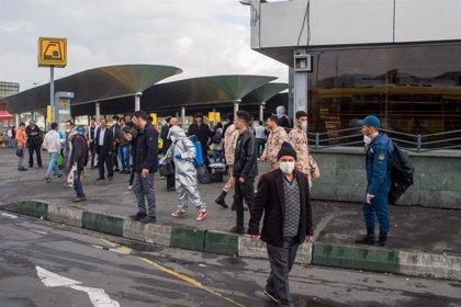 Irán registra otros 117 fallecidos y anuncia un test que confirma los casos de Covid-19 en tres horas