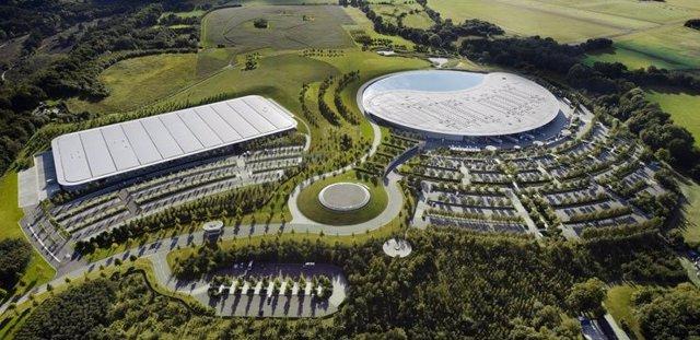 Fábrica de McLaren en Woking