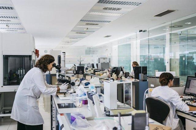 Laboratorio de microbiología de AINIA