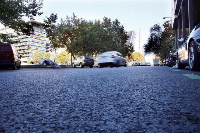 Castellana sin coches, sin parquímetros