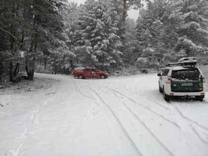 Aviso por nieve esta noche y el martes por la mañana en toda la región, incluido la capital