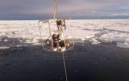 El único paso profundo Ártico-Atlántico, convertido en sumidero de plástico
