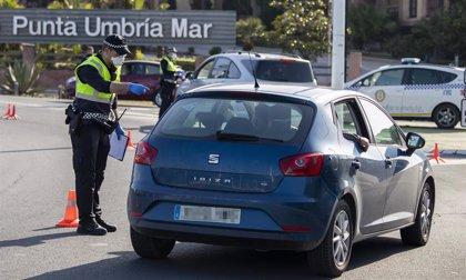 Más de 370 controles y 20 denuncias en el primer fin de semana con cierre de accesos en Punta Umbría (Huelva)