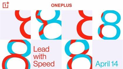 La familia de 'smartphones' OnePlus 8 se presentará el 14 de abril