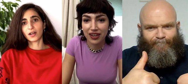 Entrevista con los actores de La casa de papel durante la cuarentena por el coronavirus