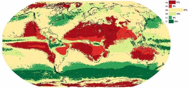 Clasificación climática de las sequías meteorológicas en todo el mundo, según un estudio dirigido por un investigador de la UCM que predice la duracion de las sequías.