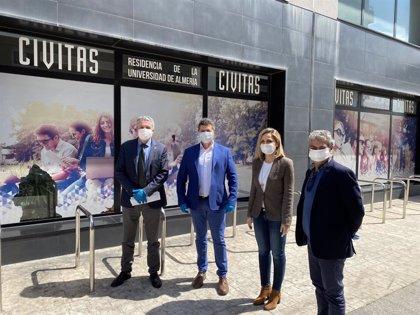 Coronavirus.-La residencia universitaria Civitas cede 50 habitaciones a sanitarios para aislarse de sus hogares