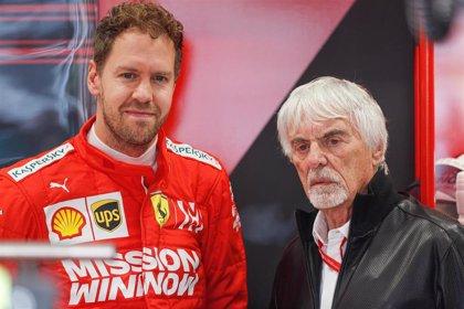 """Ecclestone: """"Vettel debería parar o marcharse a McLaren"""""""