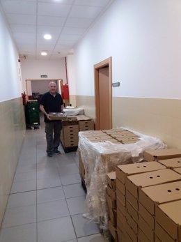 Mercadona reactiva la donación de productos de primera necesidad a comerdores sociales.