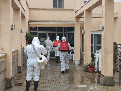 Las Fuerzas Armadas han realizado labores de desinfección en 1.300 residencias de España