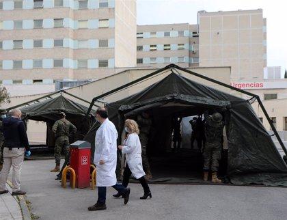 Las Fuerzas Armadas han desplegado ya 16 hospitales de campaña para luchar contra el COVID-19
