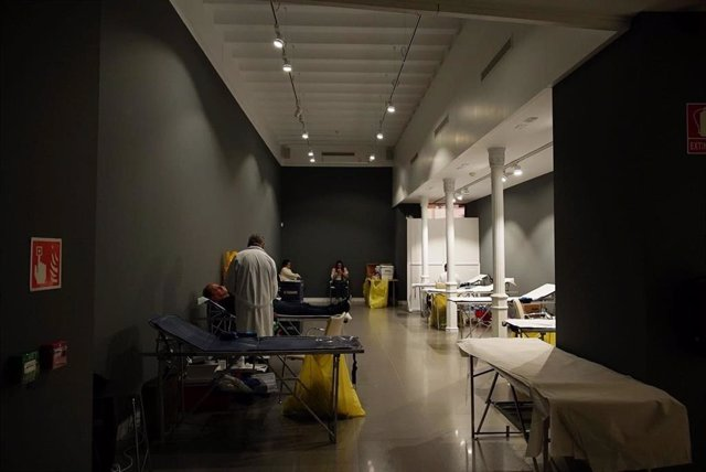 Campaña de donación de sangre organizada por la Fundación Cajasol